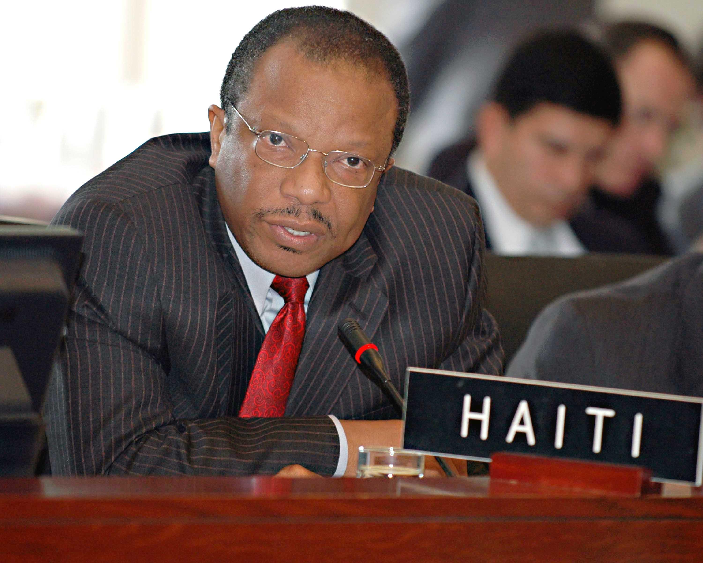 Haití renuncia a ser la sede de la XLV Asamblea General de la OEA en junio