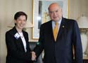 OAS Secretary General met with Board member of Transparency International