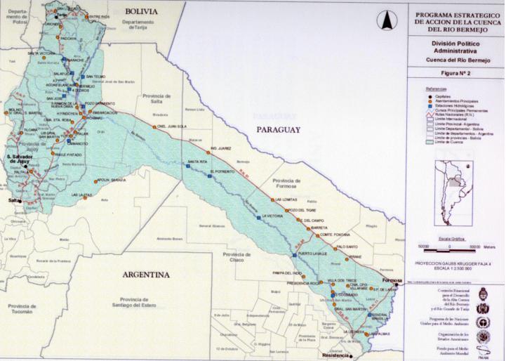 Dsd water resources bermejo for Environmental management bureau region 13