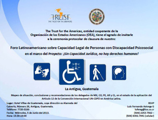 Regional Seminar on Legal Capacity of People with Psychosocial Disabilities