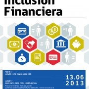 International Seminar: Financial Inclusion: New Tools for Overcoming Poverty