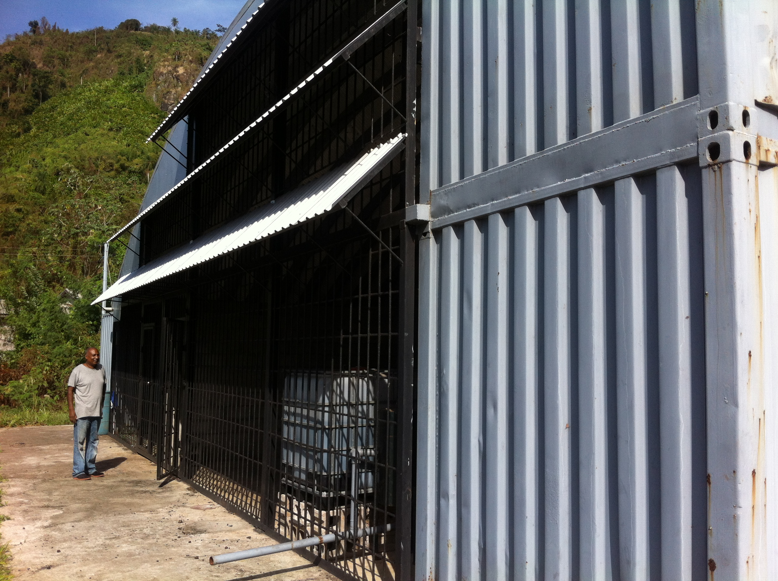 Shed within Perseverance Sanitary Landfill
