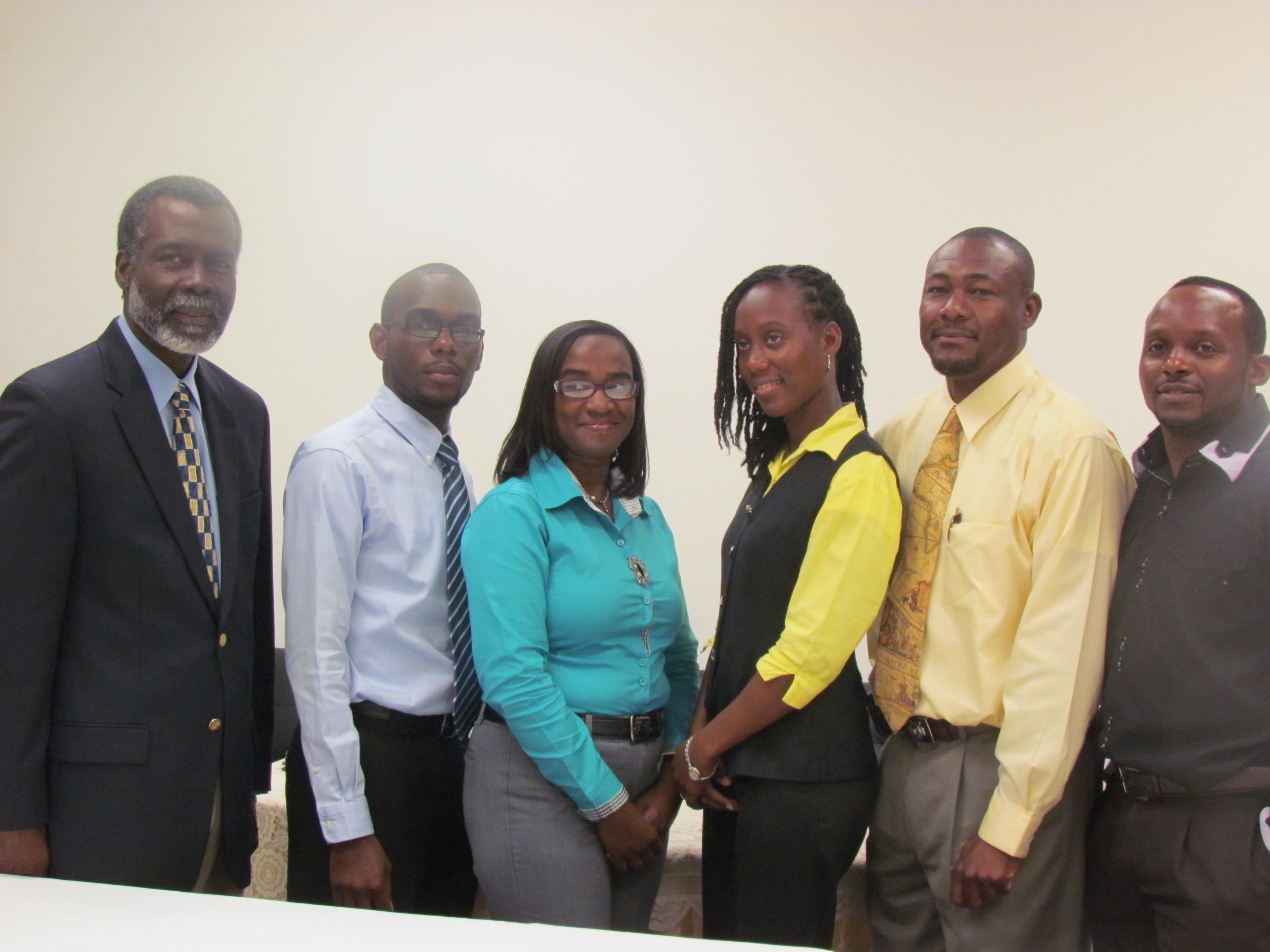 OAS Rep with Project Management Team