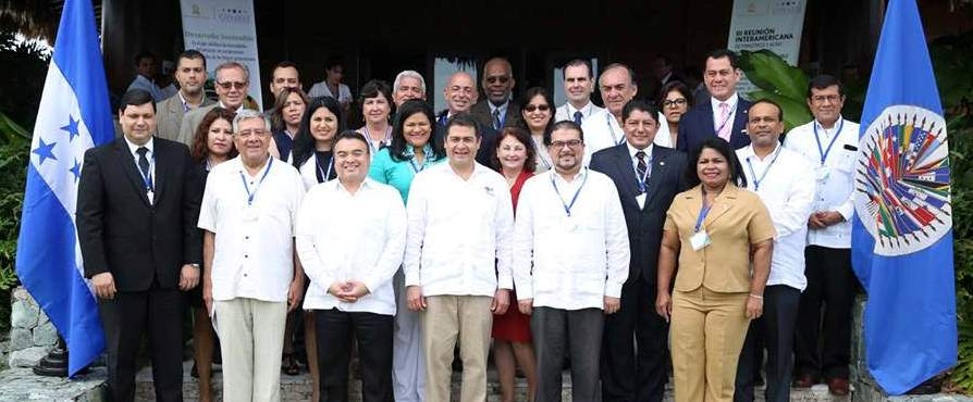 OAS Countries Reaffirm Commitment to Sustainable Development
