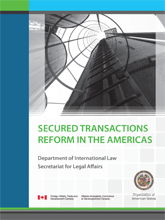 OAS Booklet - Secured Transactions Reform in the Americas