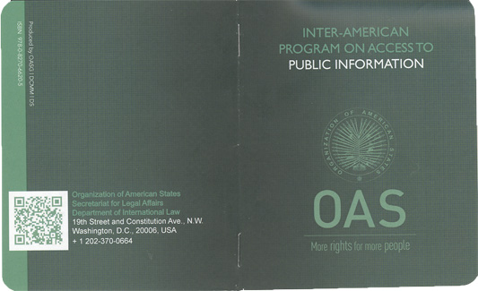 Presentation on the Inter-American Program on Access to Public Information