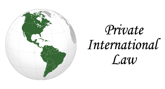 The Department of International Law and the Promotion of Private International Law