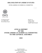 Annual Report of the Inter-American Juridical Committee to the General Assembly