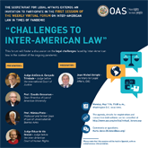"Virtual Forum: ""Challenges to Inter-American Law"""