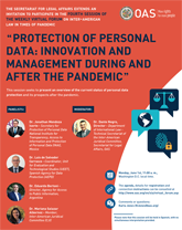 "Virtual Forum: ""Protection of Personal Data: Innovation and Management during and after the Pandemic"""