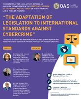 "Virtual Forum: ""The Adaptation of Legislation to International Standards against Cybercrime"""
