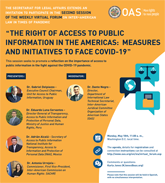 """Virtual Forum: """"The Right of Access to Public Information in the Americas"""""""