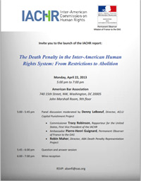The Death Penalty in the Inter-American Human Rights System
