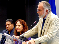 IACHR Chair, Jos� de Jesus Orozco, opening the conference