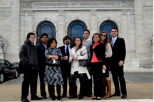 IACHR interns, winter 2012