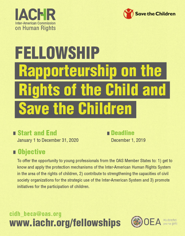 Rapporteurship on the Rights of the Child