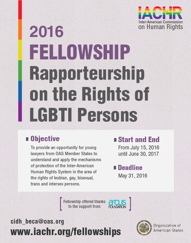 Fellowship on the Rights of LGBTI Persons