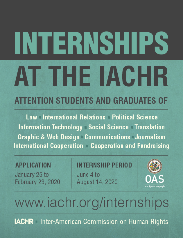 Internships at the IACHR