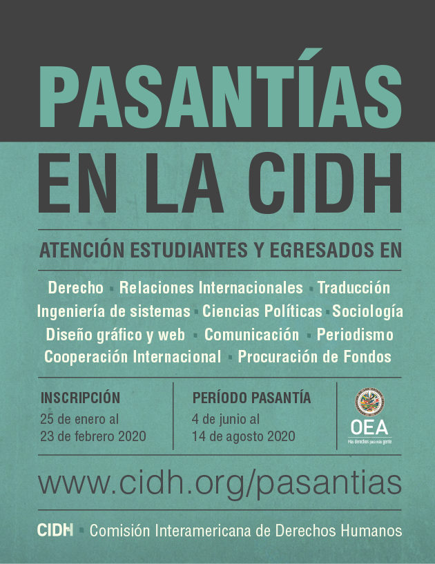 Pasant�as en la CIDH