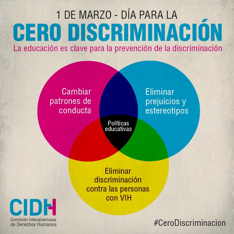 CIDH llama a los Estados a combatir la discriminación contra todas ...