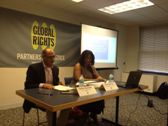 Tracy Robinson en el evento de Global Rights