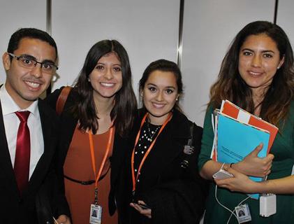 Pasantes del programa de Pasantías de la OEA
