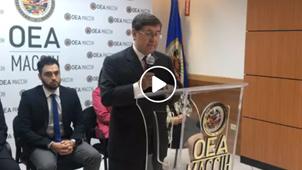 Conferencia prensa caso Arca abierta
