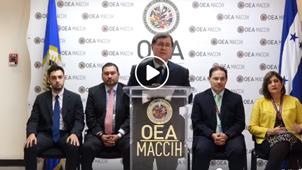 "Equipo UFECIC-MP/MACCIH-OEA presentó el Séptimo Caso de Investigación Penal Integrada: ""Licitación fraudulenta del Seguro Social"""