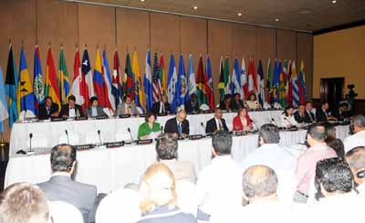 Dialogue of heads of delegation with representatives of the workers in the OAS member states - 39 Regular Session of the OAS General Assembly