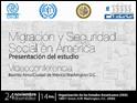 Informe ejecutivo del estudio Migración y seguridad social en América