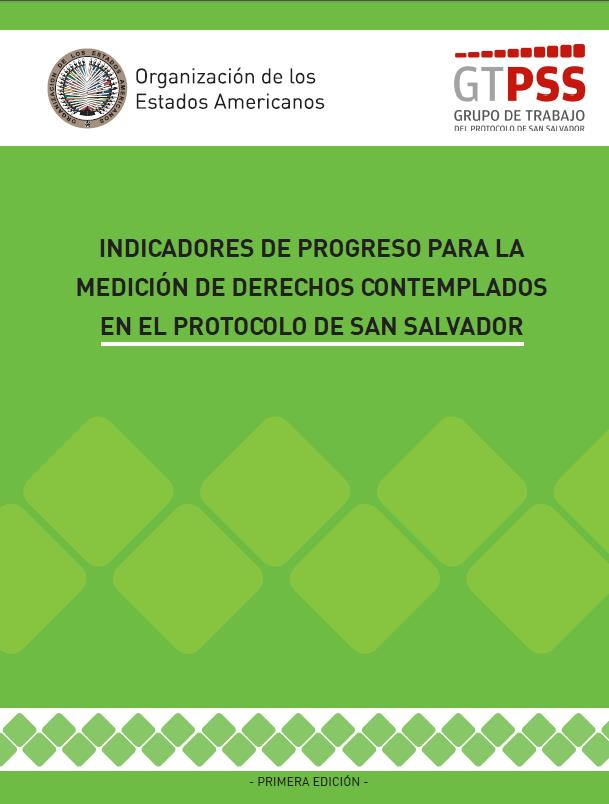 Indicadores De Progreso Para La Medici N De Derechos
