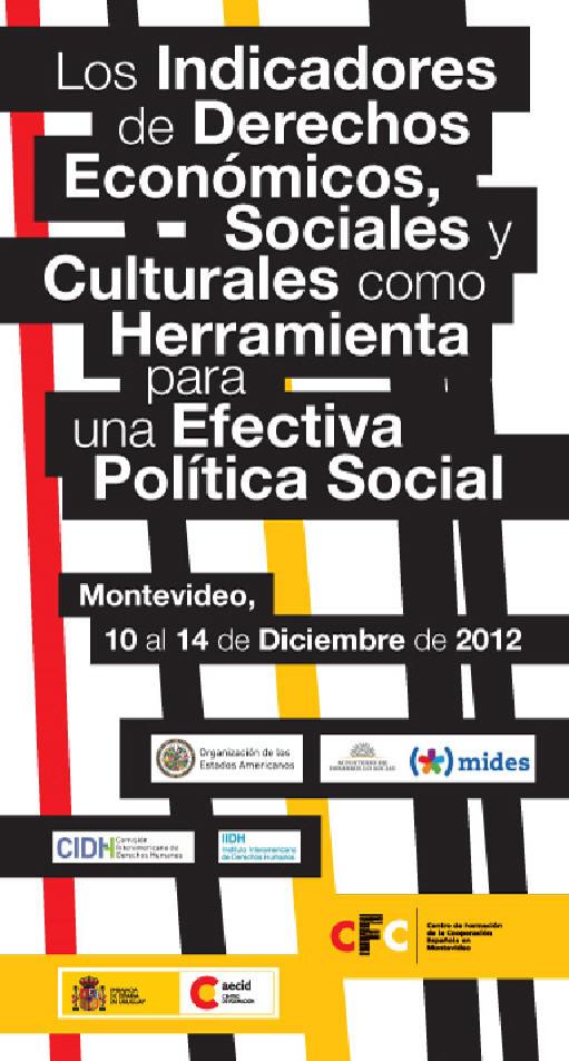 Indicadores de Progreso para medición de derechos contemplados en el Protocolo de San Salvador