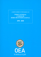 General Index of Courses on International Law (1974-2018)