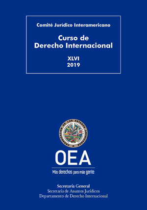 New Publication: XLVI Course On International Law