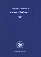 XXIX Curso de Derecho Internacional (2002)