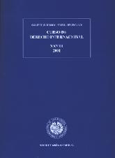 XXVIII Curso de Derecho Internacional (2001)