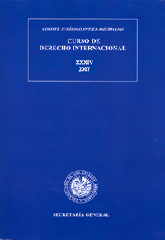 XXXIV Course on International Law (2007)