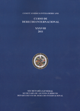 XXXVIII Curso de Derecho Internacional (2011)
