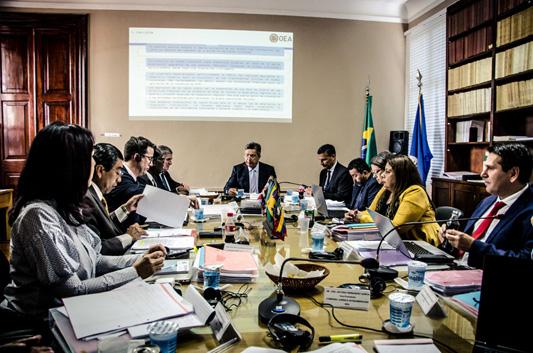 Culmina el 90º período ordinario de sesiones del Comité Jurídico Interamericano