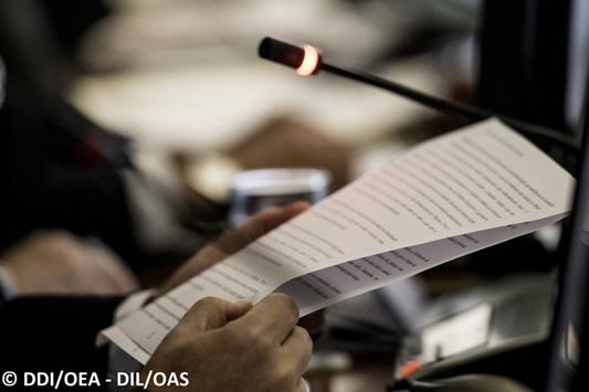 Presidente del Comité Jurídico Interamericano realiza presentación ante la Comisión de Asuntos Jurídicos y Políticos