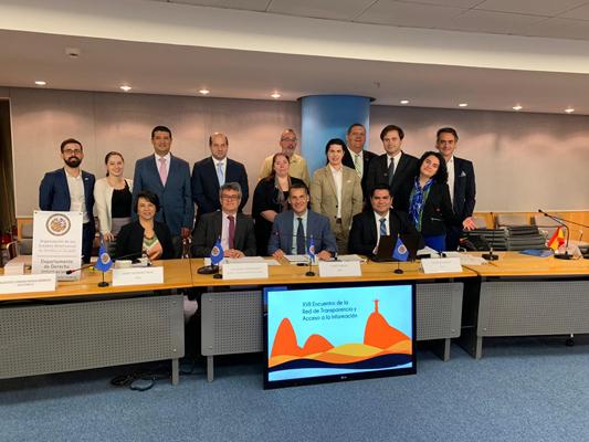 Departamento de Derecho Internacional de la OEA realiza e IV Taller sobre la Ley Modelo de Acceso a la Información Pública 2.0l
