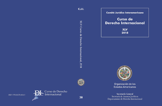 New Publication: XLV Curso de Derecho Internacional
