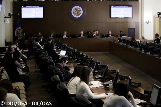 El Departamento de Derecho Internacional participa en la Sexta Sesión Extraordinaria de la CAJP sobre la Defensa Pública Oficial Autónoma como Garantía del Acceso a la Justicia de Grupos Vulnerables