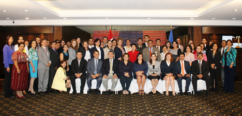 Workshop on Equal Access to Public Information in Guatemala