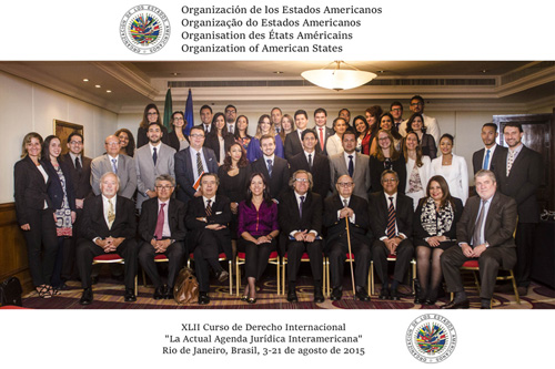Completion of the Forty-second OAS Course on International law