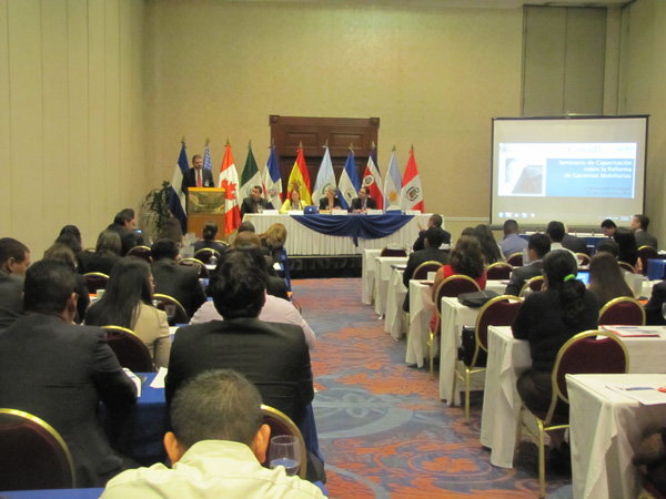 Regional Capacity-Building Seminar on Secured Transactions Reform held in San Salvador