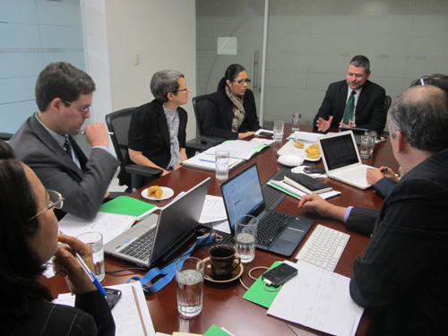 Project team meets at Ministry of Economy