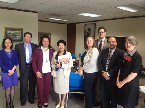 Project team meets with officials at Central Bank of Reserve