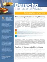 Derecho Internacional Privado (Actividades Recientes - Enero 2019)