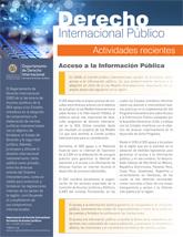 Derecho Internacional Público (Actividades Recientes - Enero 2019)